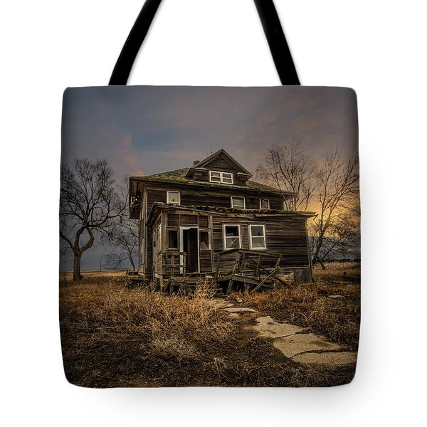 Tote Bag featuring the photograph Welcome Home by Aaron J Groen