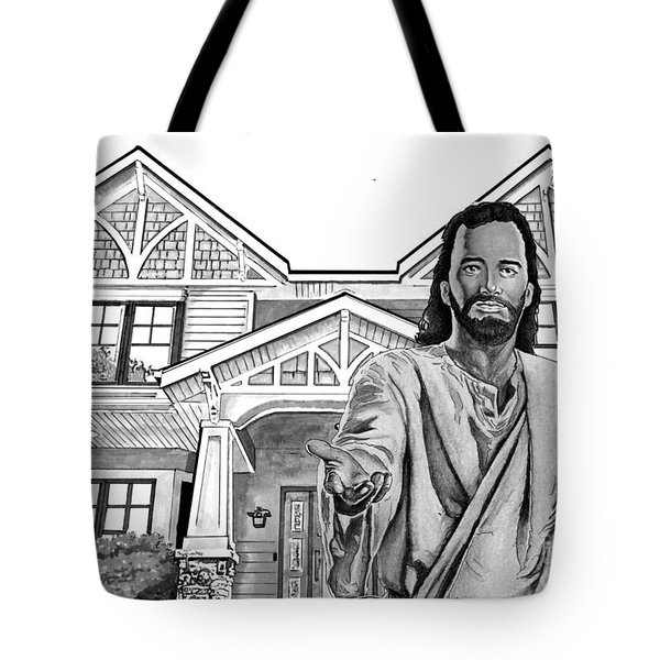 Welcome Home Tote Bag by Bill Richards