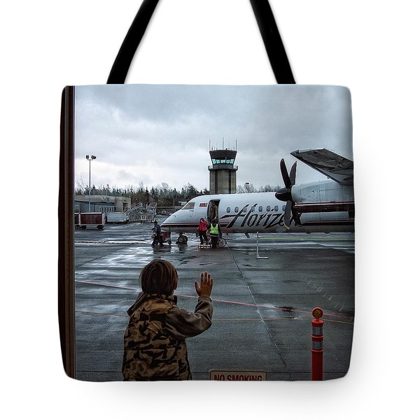 Welcome Home Tote Bag by Donna Blackhall
