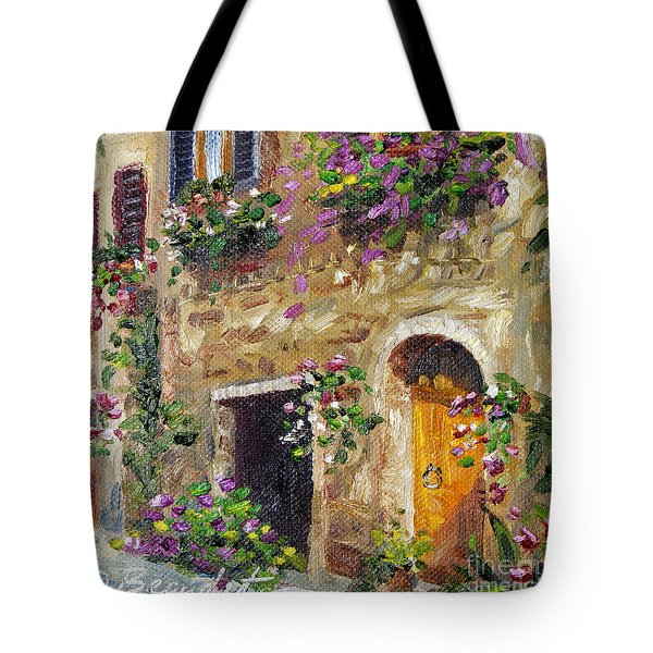 Tote Bag featuring the painting Welcome Home by Jennifer Beaudet