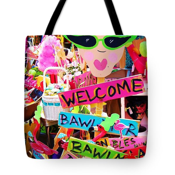 Welcome Hon Tote Bag by Debbi Granruth