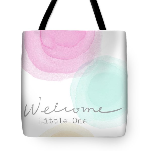 Welcome Little One- Art By Linda Woods Tote Bag