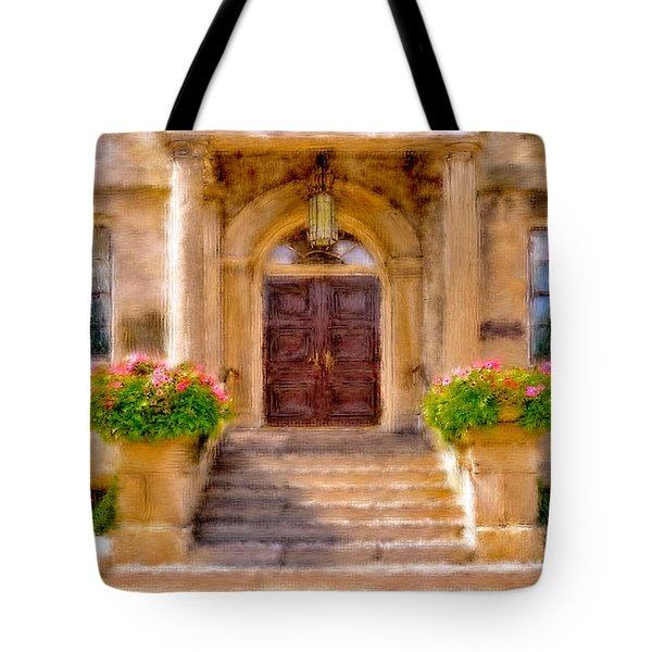 Tote Bag featuring the photograph Welcome by Mary Timman
