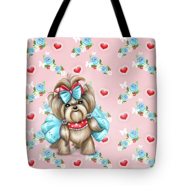 Tote Bag featuring the painting Welcome Spring by Catia Lee