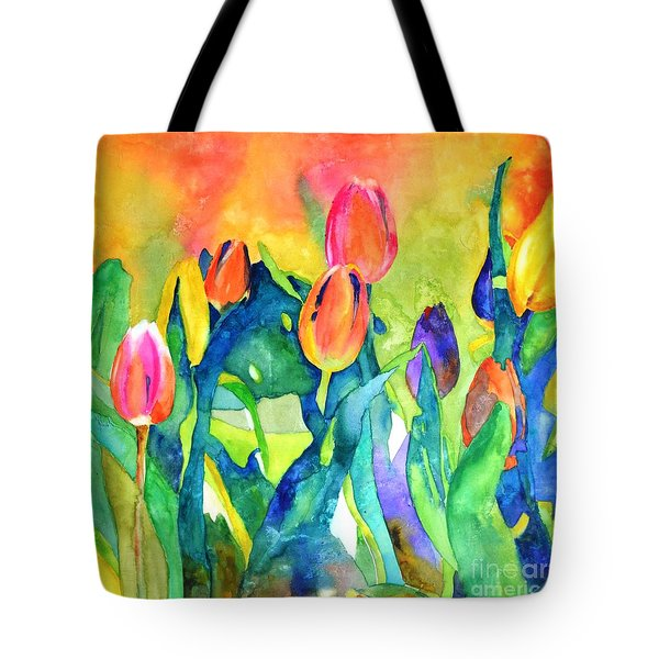 Welcome Spring #1 Tote Bag by Betty M M   Wong