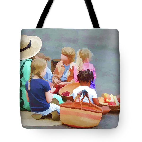 Welcome The Children Tote Bag