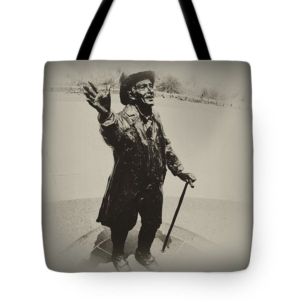 Welcome To America  Tote Bag by Bill Cannon