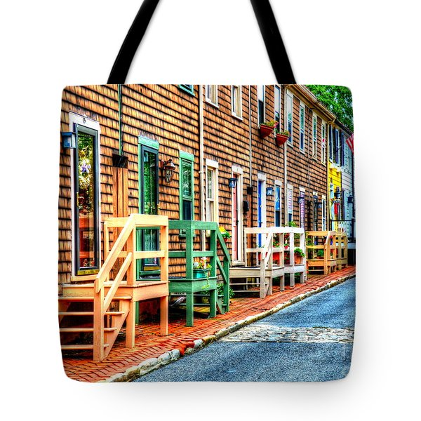 Welcome To Annapolis Tote Bag by Debbi Granruth