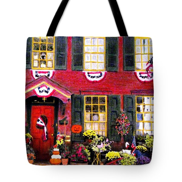 Welcome To Autumn Tote Bag