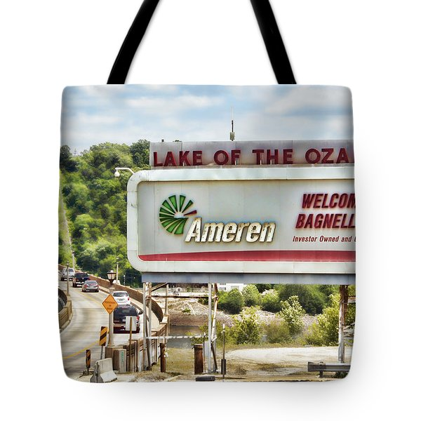 Welcome To Bagnell Dam Tote Bag