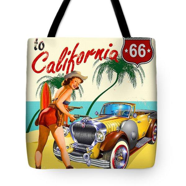 Welcome To California Tote Bag