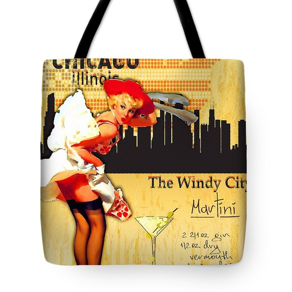 Welcome To Chicago Tote Bag