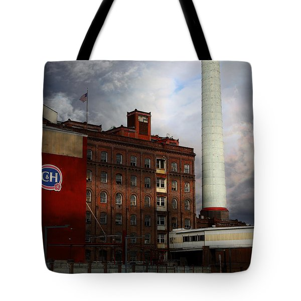 Welcome To Crockett California Blue Collar Usa . 7d8862 Tote Bag by Wingsdomain Art and Photography