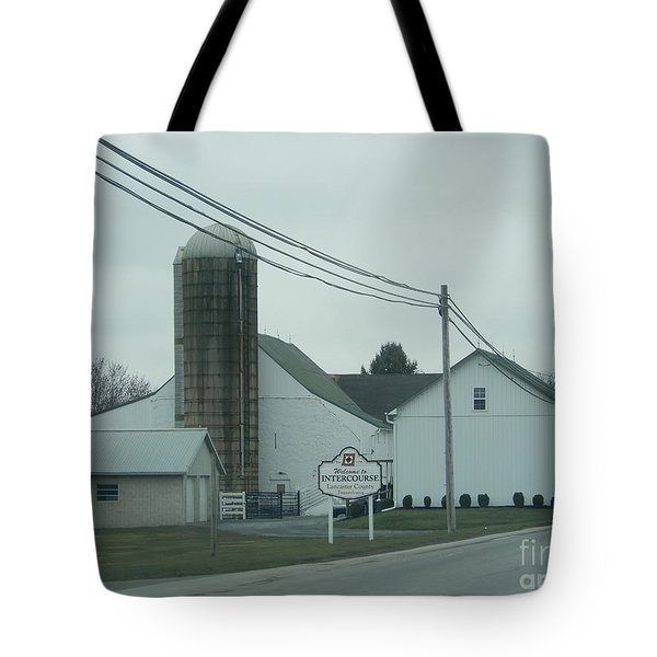 Welcome To Intercourse, Pa Tote Bag