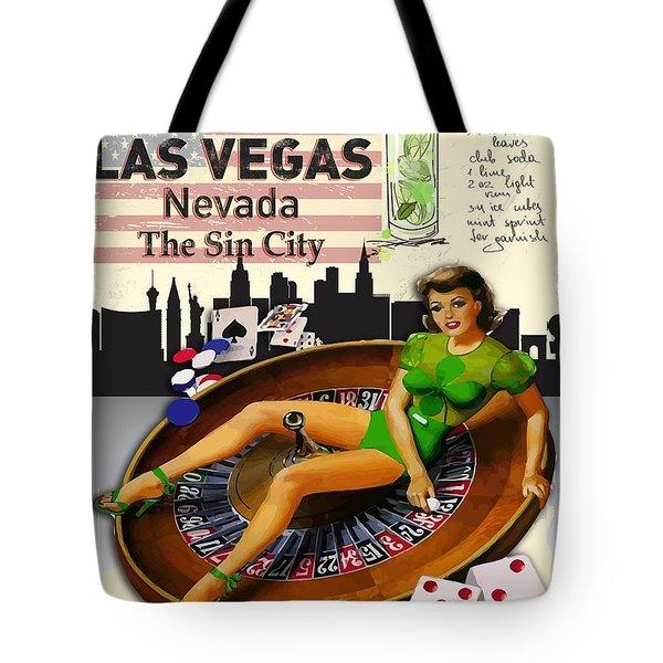 Welcome To Las Vas Tote Bag