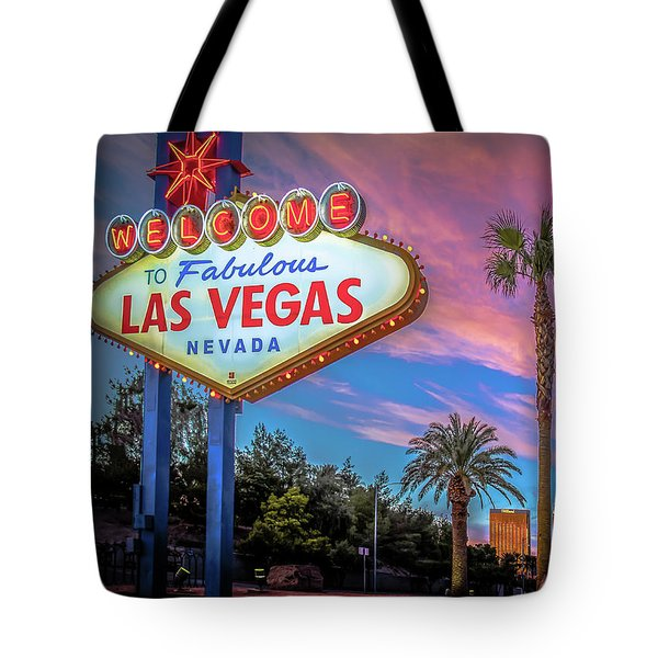 Welcome To Las Vegas Tote Bag