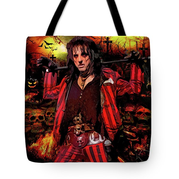 Welcome To My Nightmare Tote Bag
