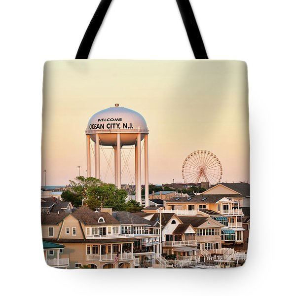 Welcome To Ocean City, Nj Tote Bag