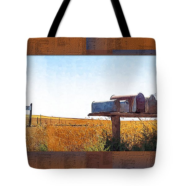 Welcome To Portage Population-6 Tote Bag