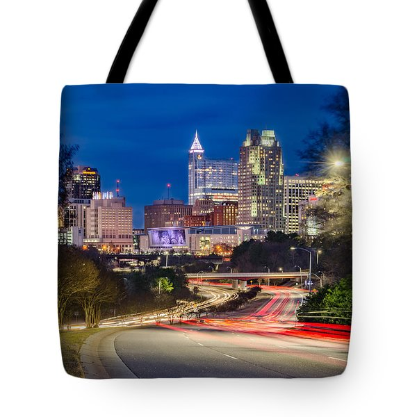 Welcome To Raleigh Tote Bag