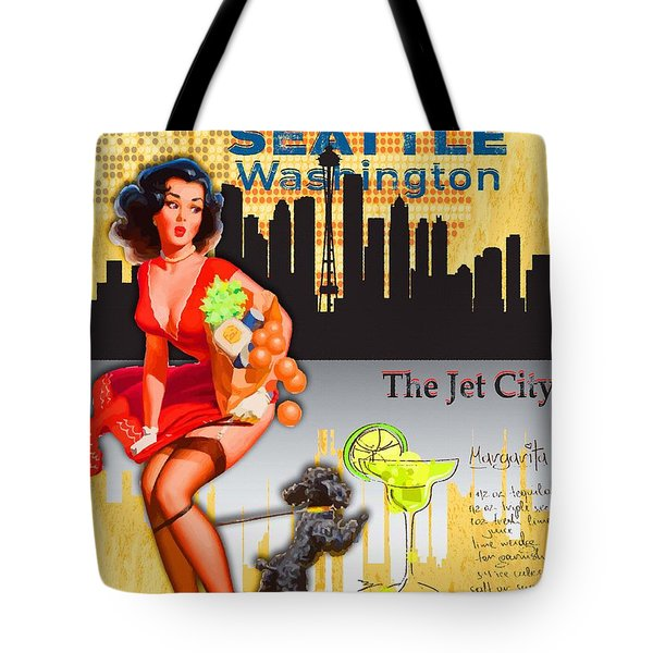 Welcome To Seattle Tote Bag