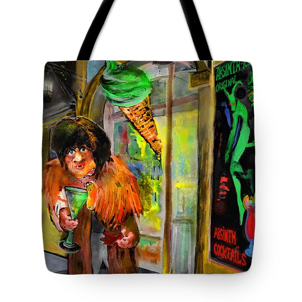 Welcome To The Czech Republic 02 Tote Bag by Miki De Goodaboom