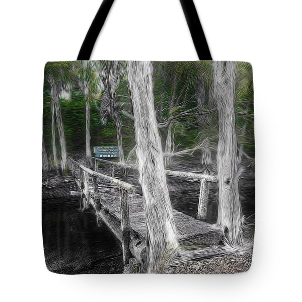 Tote Bag featuring the photograph Welcome To The Jungle 01 by Kevin Chippindall