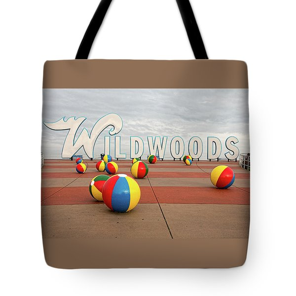 Welcome To The Wildwoods Tote Bag