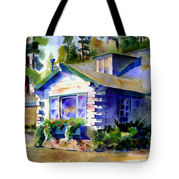 Welcome Window Tote Bag