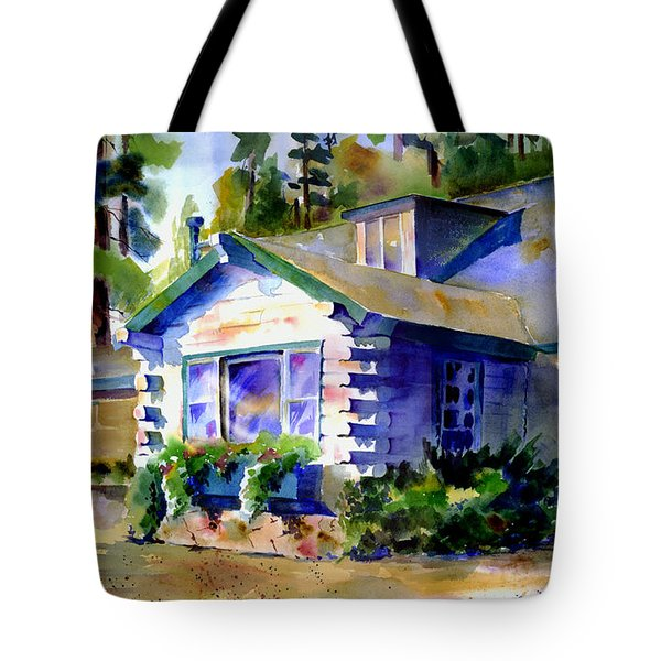 Welcome Window Tote Bag