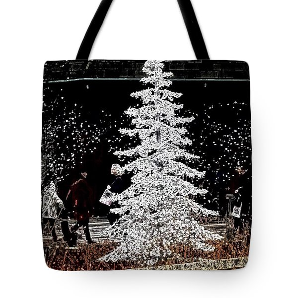 Welcome Winter Tote Bag