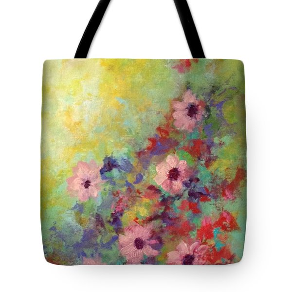 Welcoming Spring Tote Bag by Suzzanna Frank