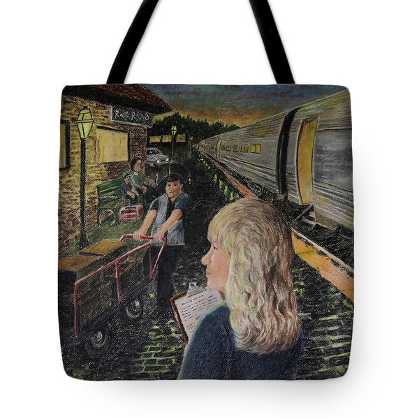 Welcoming The Guests Tote Bag