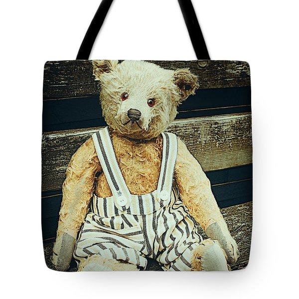 Well Advanced In Years Tote Bag by Jutta Maria Pusl