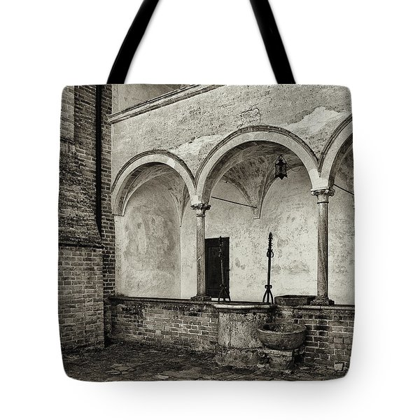 Well And Arcade Tote Bag