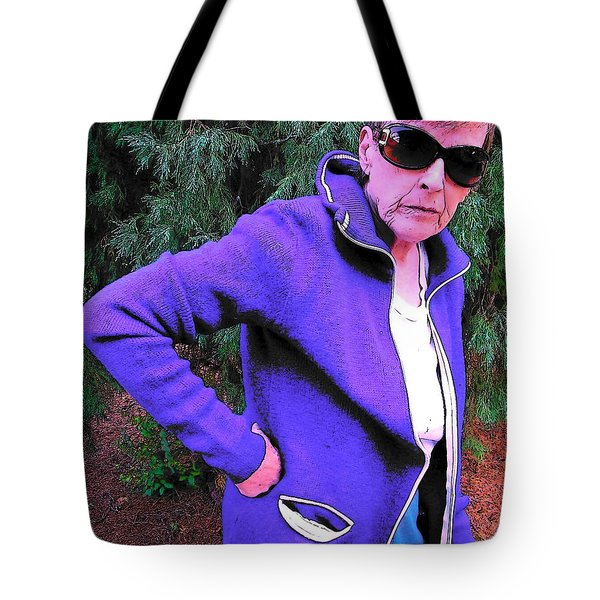 Well Are You Coming 2 Tote Bag by Lenore Senior