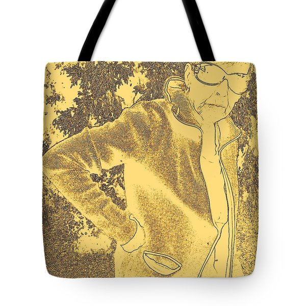Well Are You Coming 3 Tote Bag by Lenore Senior