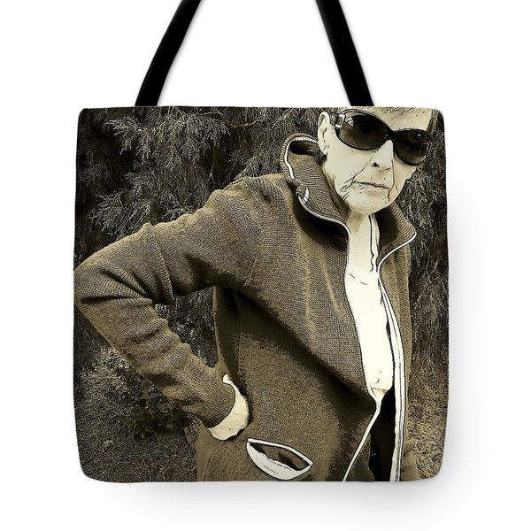 Tote Bag featuring the photograph Well Are You Coming by Lenore Senior