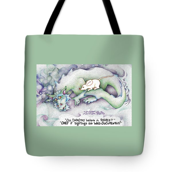 Well Documented Fpi Editorial Cartoon Tote Bag