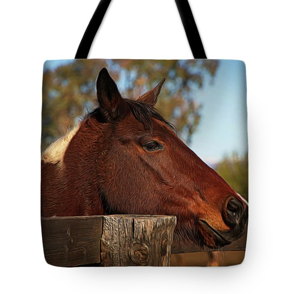 Tote Bag featuring the photograph Well Hello There by Teresa Wilson