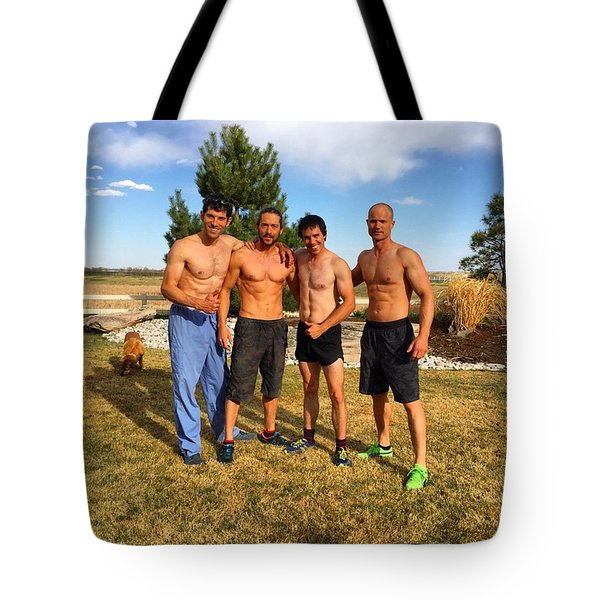 Wolfpack Brothers Tote Bag