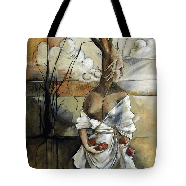 Well Suited Tree Woman Tote Bag