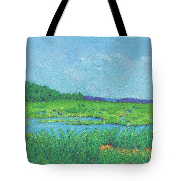 Wellfleet Wetlands Tote Bag