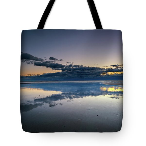 Tote Bag featuring the photograph Wells Beach Reflections by Rick Berk