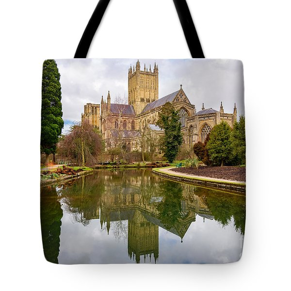 Wells Cathedral Tote Bag by Colin Rayner