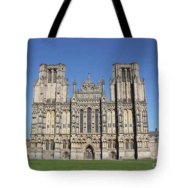 Wells Cathedral Tote Bag by Linda Prewer