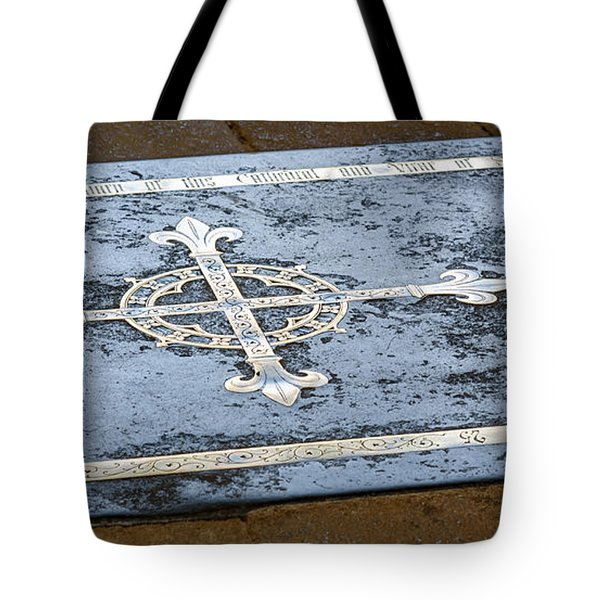 Wells Cathedral Tomb Tote Bag by Colin Rayner