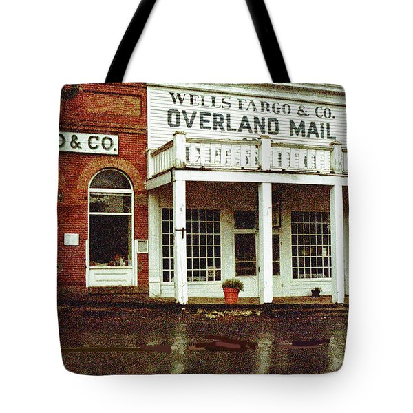 Wells Fargo Ghost Station Tote Bag