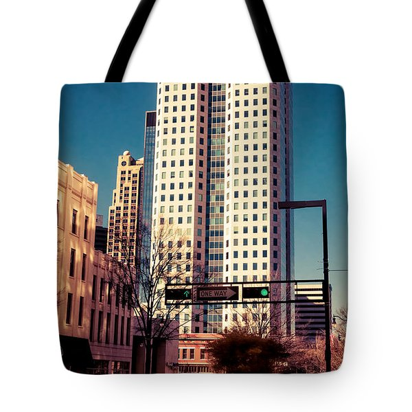 Wells Fargo Tote Bag by Phillip Burrow