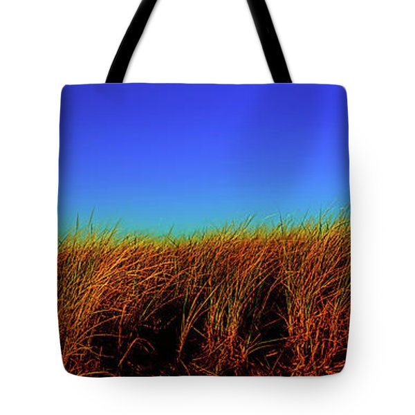 Wells Rachel Carson Wildlife Refuge Grass And Dunes Tote Bag